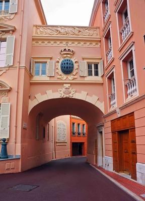 Calles del centro histórico de Mónaco