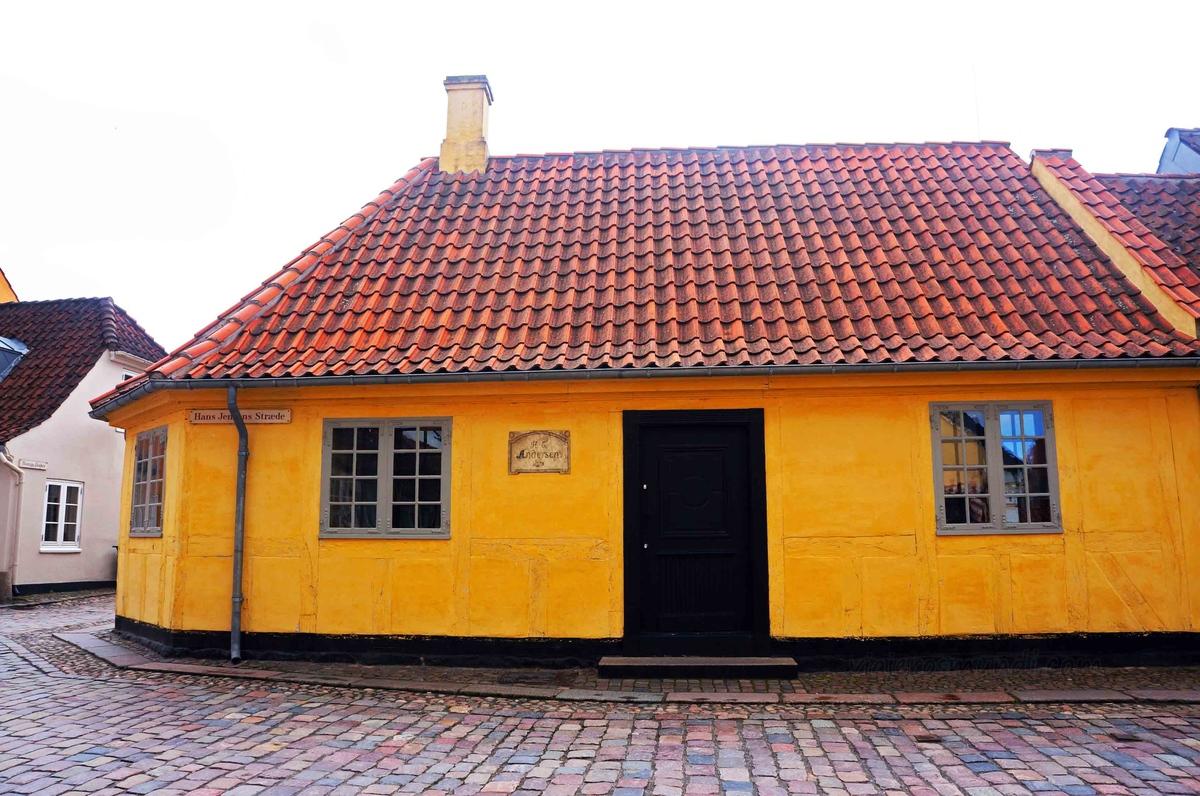 Casa de Hans Christian Andersen en Odense