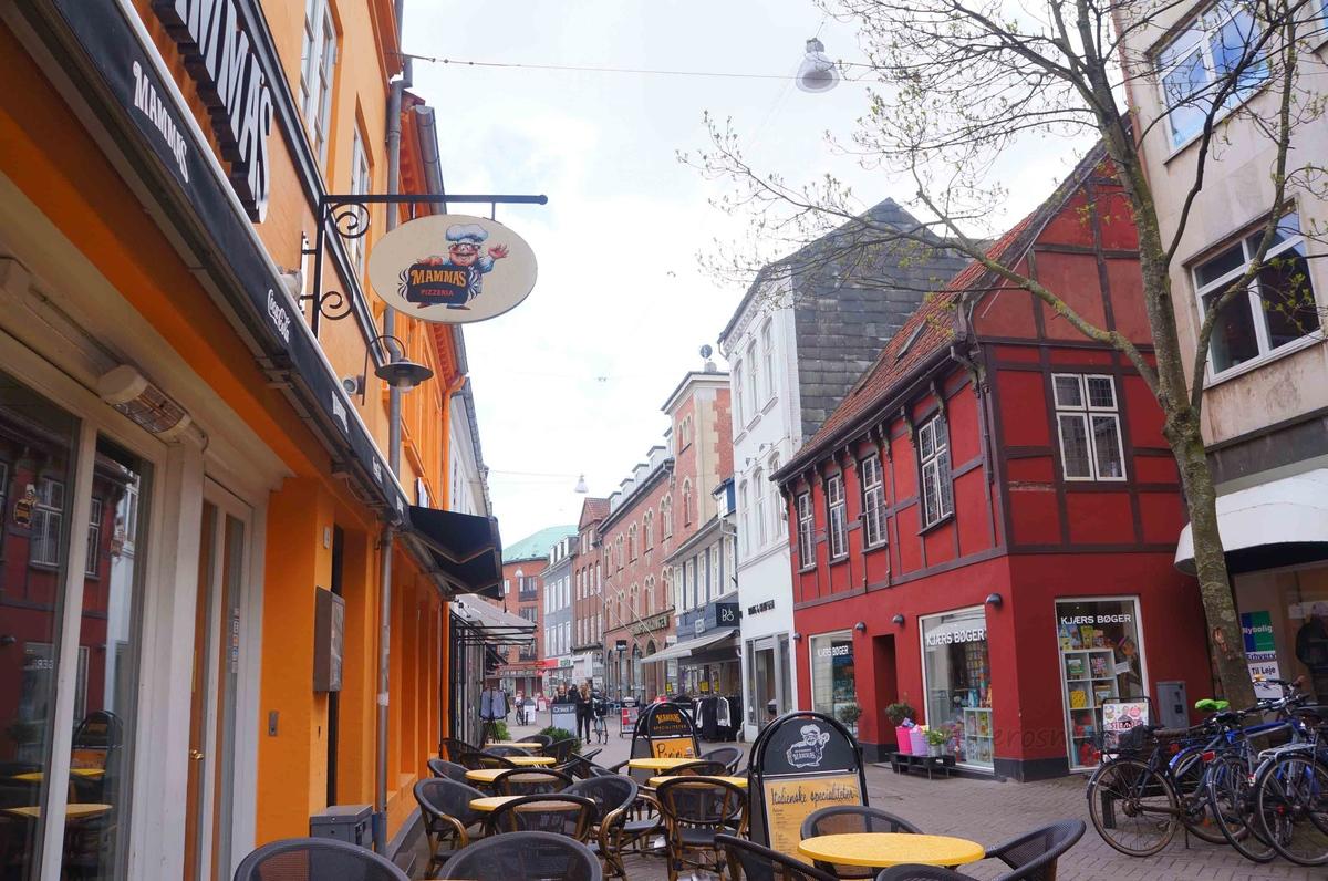 Calles de Vestergade, Odense