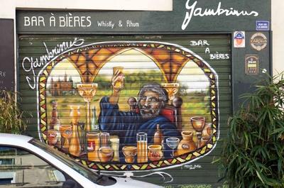 Un bar en Aviñón