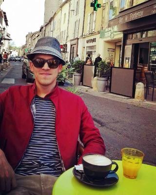Un desayuno en las calles de Aviñón