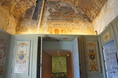 Interiores del Palacio papal de Aviñón