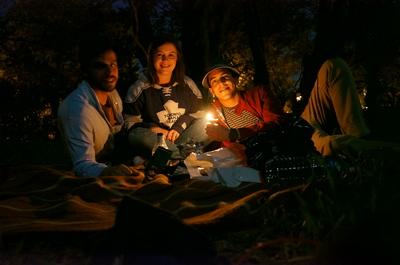 Campamento en Aviñón