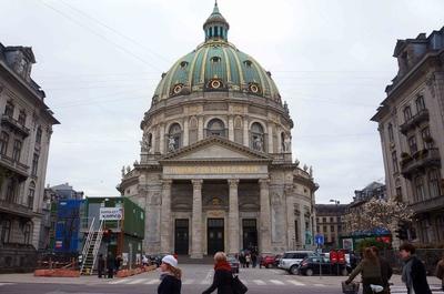 Iglesia de mármol, Copenhague