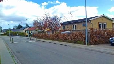 Barrio residencial de Lyngby, Dinamarca