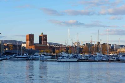 Embarcadero en Aker Brygge, Oslo