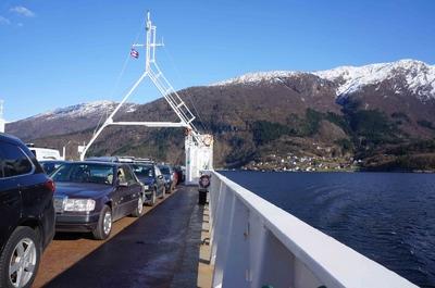 Montañas de Noruega