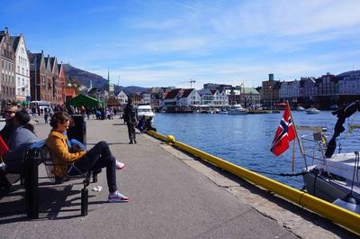 Malecón de Bergen, Noruega