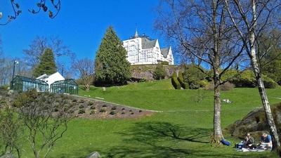 Residencia de Gamlehaugen en Bergen. Noruega