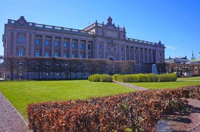 Palacio del Parlamento sueco en Estocolmo
