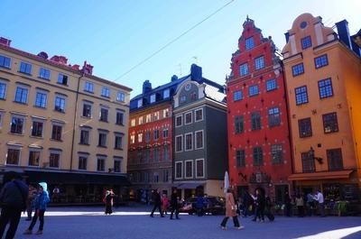 Plaza Stortorget en Estocolmo