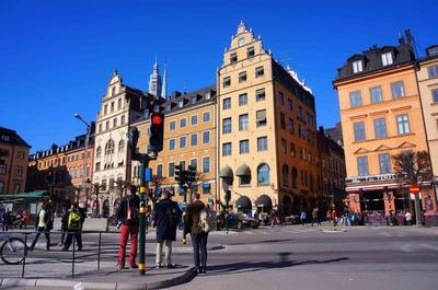 Barrio de Gamla Stan en Estocolmo