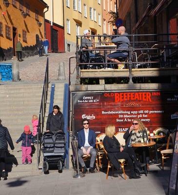 Barrio de Södermalm en Estocolmo