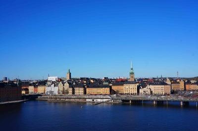 Vista de Gamla Stan en Estocolmo