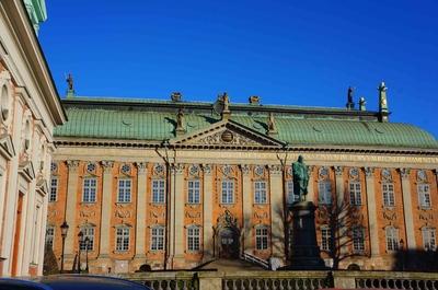 Edificios del centro histórico de Estocolmo