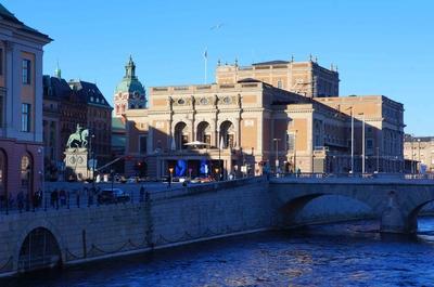 Palacio de la Ópera en Estocolmo