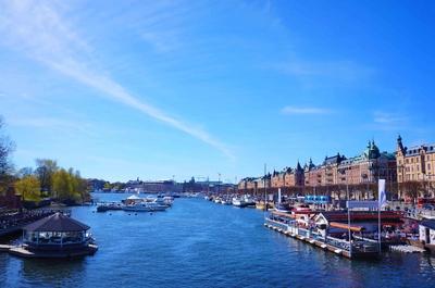 Canal en Estocolmo