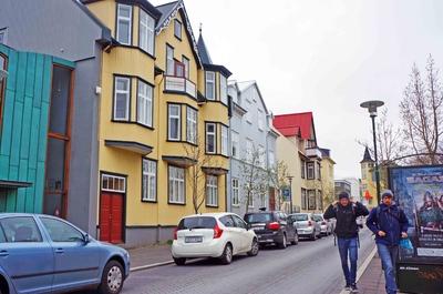 Calles de Miðborg en Reikiavik