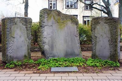 Monumento en las calles de Miðborg, en el centro de Reikiavik
