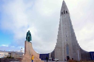 Iglesia Hallgrímskirkja en Reikiavik