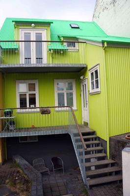 Casa de mi anfitrión en Reikiavik