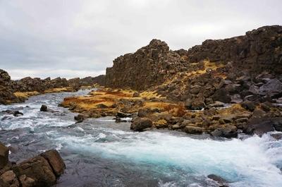 Parque nacional Þingvellir en Islandia