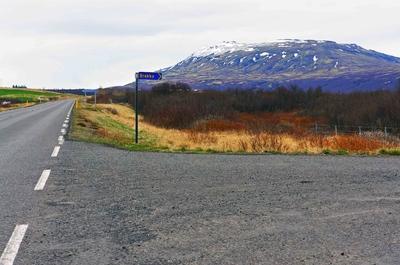 Carretera en el círculo dorado, Islandia
