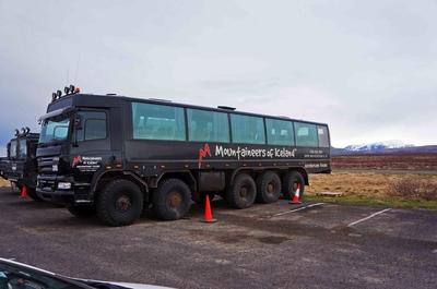Trailer todoterreno en Islandia