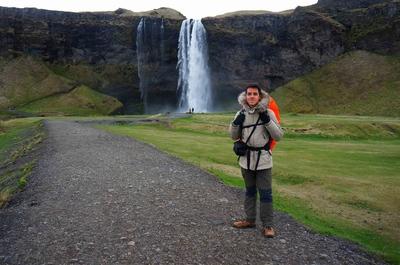 Cascada Seljalandfoss, Islandia