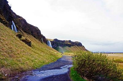 Cascada de Seljalandfoss, Islandia