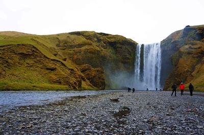 Cascada de Skógafoss, Islandia