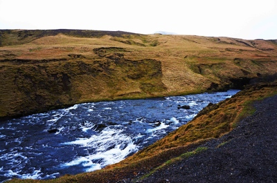 Río Skóga, Islandia