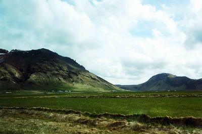 Paisajes de la ruta 1 en Islandia