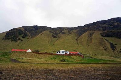 Paisajes de Vík, Islandia