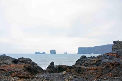 Acantilados de Dyrhólaey, Islandia