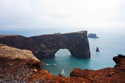 Arco de Dyrhólaey, Islandia