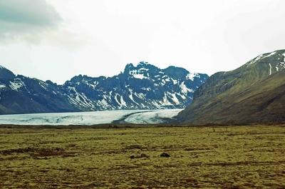 Glaciar Vatnajökull, Islandia