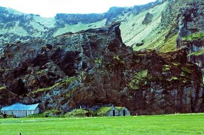 Granjas en las montañas, Islandia