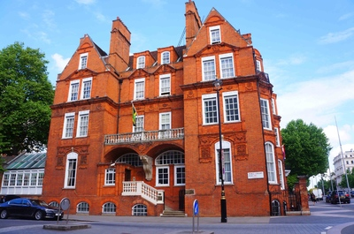 Arquitectura en el Hyde Park de Londres