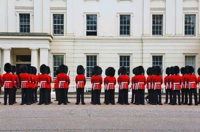 Guardia real del Palacio de Buckingham