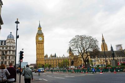 Palacio de Westminster en Londres