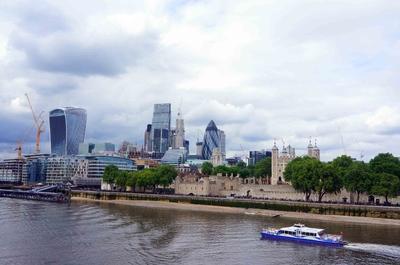 Vista de la City de Londres