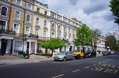 Calles de Bayswater en Londres