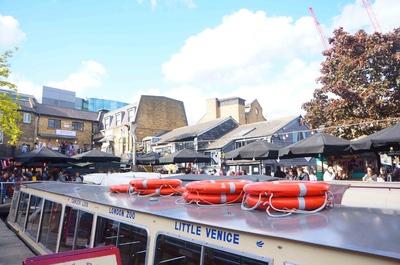 Embarcadero en el barrio Camden en Londres