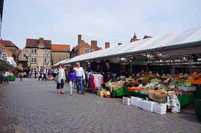 Mercado en York, Reino Unido