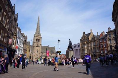 Plaza del mercado, Durham