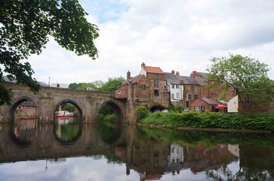 Río Wear en Durham