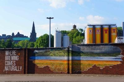 Cervecería Tennent Caledonian en Glasgow