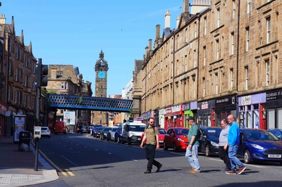 Calles del centro de Glasgow