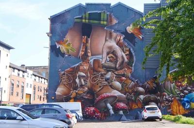Murales de Glasgow, Escocia